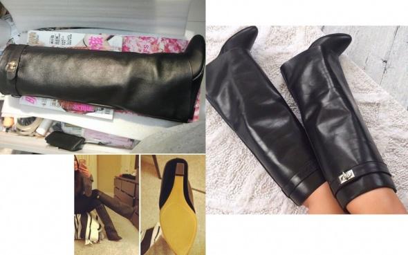 Kim Kardashian kozaki w stylu Givenchy