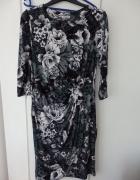 Sukienka print kwiatowy