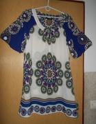 sukienka tunika 40 L z kieszeniami...