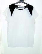 biała elegancka mgiełka L XL butik...