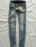 Tally Weijl niebieskie jeansy S...