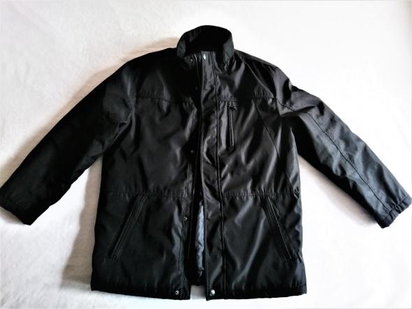 Czarna kurtka z kieszeniami L Luciano