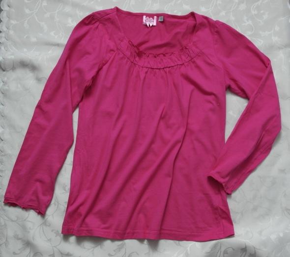 Ciemny róż bluzka bawełna 38