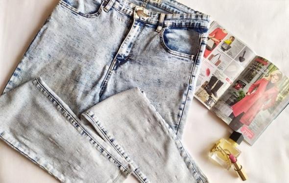 nowe jeansy marmurki new yorker L