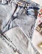 nowe jeansy marmurki new yorker L...