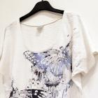 biała koszulka 44