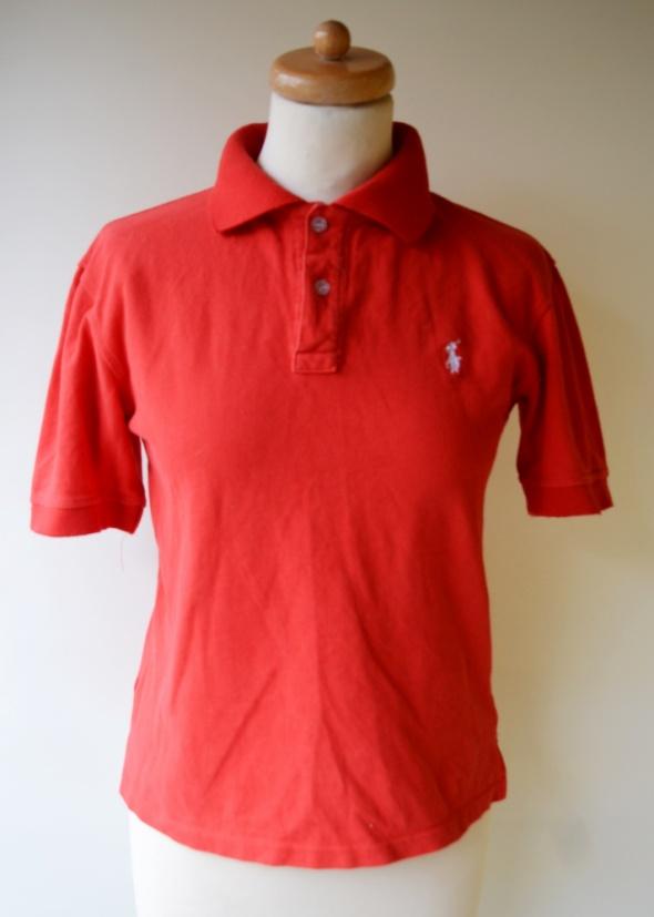 Koszulka Polo Czerwona S 36 Ralph Lauren Bluzka
