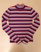 ZARA 36 S sweterek w paski nowy bez metki...