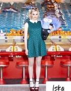 Iska Asos London sukienka haft azur L XL...