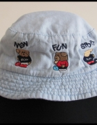 Czapeczka rozmiar 48 kapelusik nakrycie głowy dla dziecka...