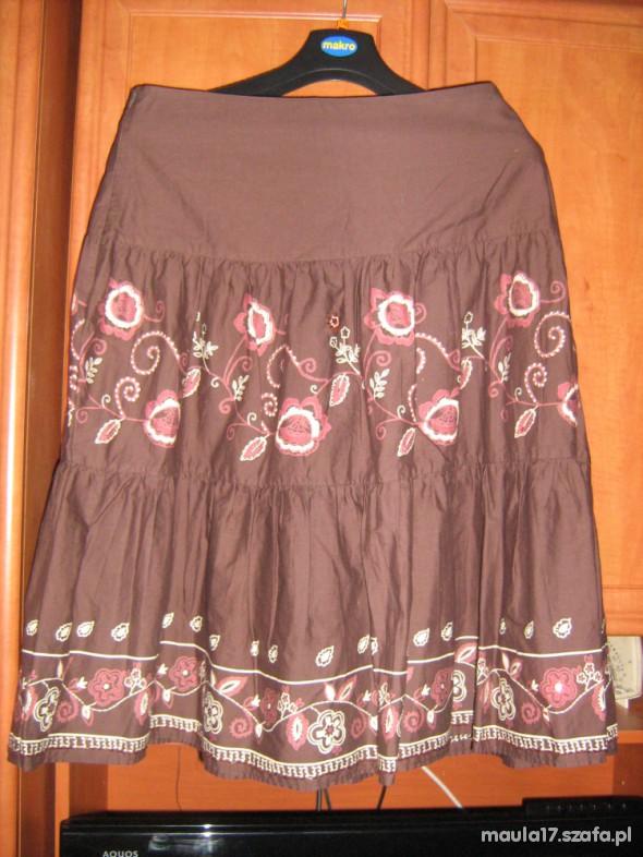 Spódnica FLAME falbany wzory roz 40