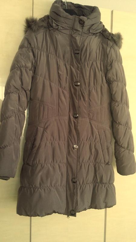 Śliczna zimowa kurtka płaszczyk 42