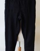 Spodnie Czarne H&M Tregginsy 34 XS Rurki Czerń...