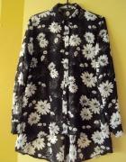 Asymetryczna koszula w kwiaty...