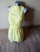 Piękny żółty kopertowy kombinezon S M L