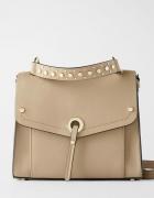 Piękna z ozdobną klapką torebka ZARA...