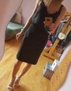 Elegancka czarna spódnica 38...