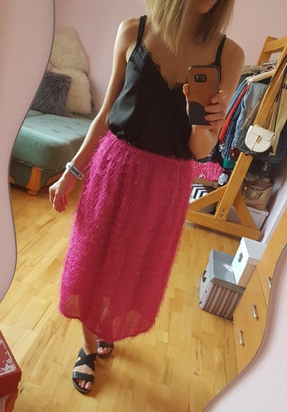 Spódnice Różowa spódnica 34 36 38