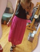 Różowa spódnica 34 36 38...