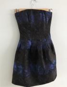 Elegancka sukienka gorsetowa bombka rozkloszowana...
