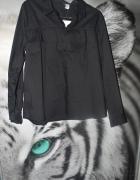 Czarna koszula H&M Nowa falbanka...