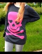 Sweter H&M z czaszką HIT Blogerek...