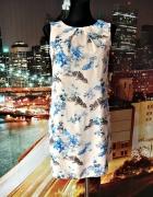 atmosphere sukienka kwiaty drzewa ptaki mgiełka 34...