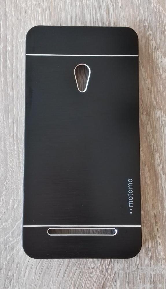 Nowe etui czarne Asus Zenfone 5 A501CG aluminium szczotkowane metal