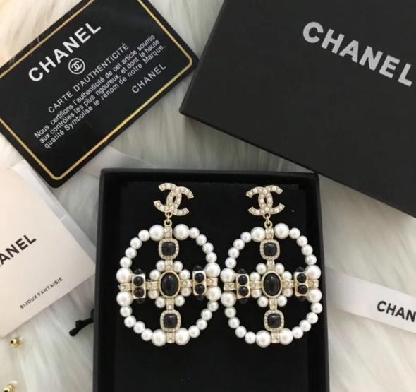 Kolczyki Chanel