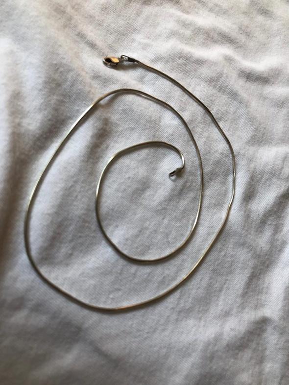 Srebrny2 łańcuszek 925