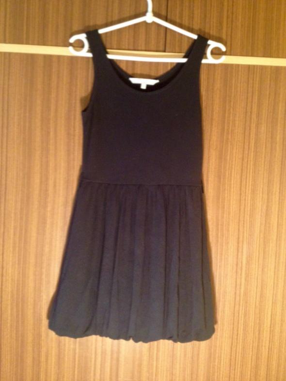 Bombka sukienka czarna mała dopasowana 13 lat XS S M 34 36 38 160cm dziecięca nowa