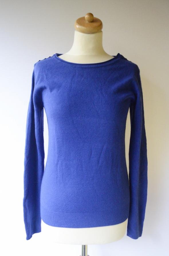 Sweter Kobaltowy Niebieski Atmsphere M 38 Kobalt Elegancki...