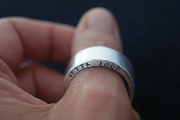 pierścionek obrączka Jette Joop