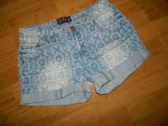HOUSE szorty jeansowe spodenki roz 38 40...