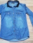 Jeansowe koszula sinsay