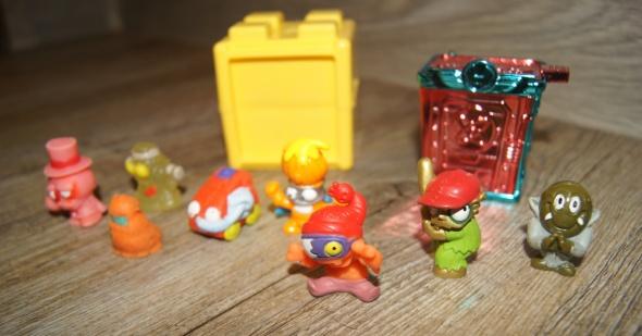 Zestaw figurki kolekcja Śmieciaki Trash Pack 10 elementów