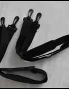 NOWY pasek do torby torebki mocny z zaczepami czarny...