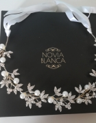Opaska do włosów Novia Blanca
