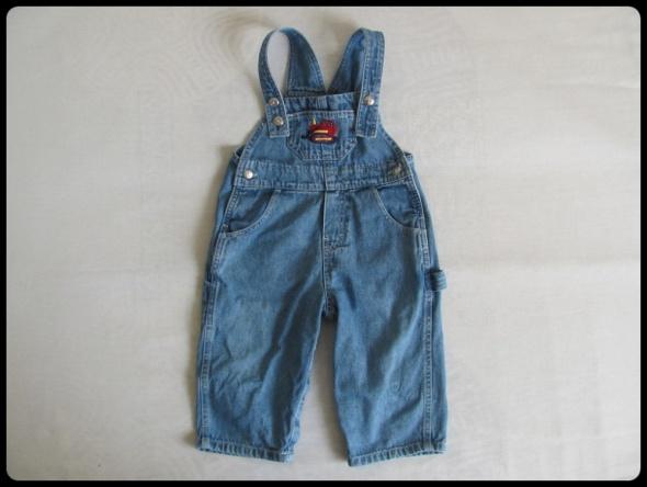 Spodnie ogrodniczki dla chłopca na 12 18 mies Carter s rozmiar 86