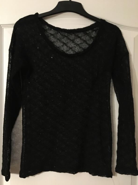 Czarny sweterek PIMKIE M