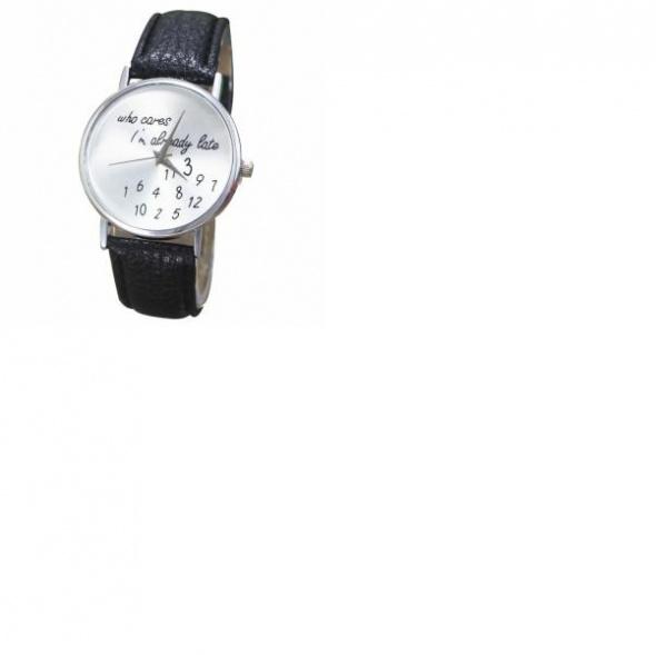 Zegarki Zegarek napis