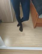 legginsy jeansowe...