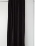 Czarna plisowana spódnica maxi vintage...