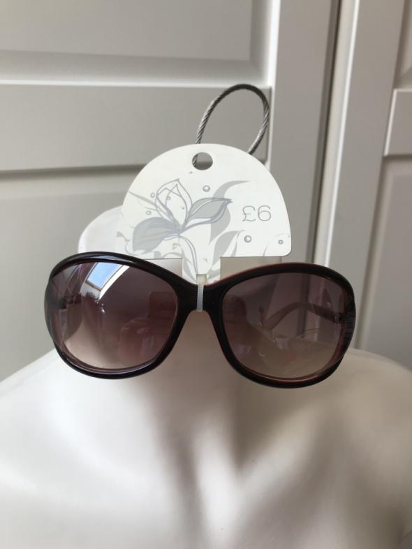 Okulary przeciwsłoneczne brązowe