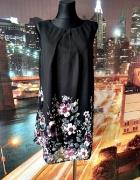 atmosphere sukienka mgiełka modny wzór kwiaty floral hit 44...