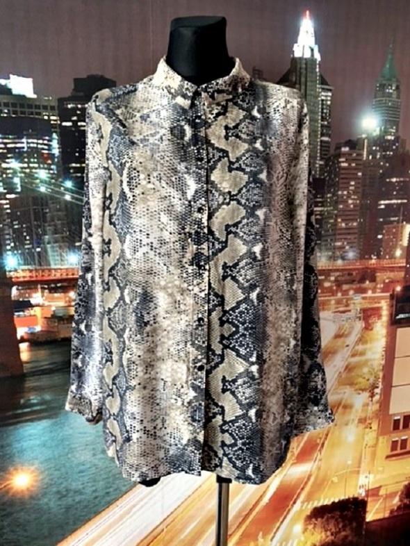 primark koszula modny wzór węża skóra jak nowa hit blog 48