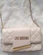 Torebka Moschino Quilted Dla Crossbody bag...