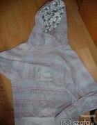 Bluza szara w kratke...