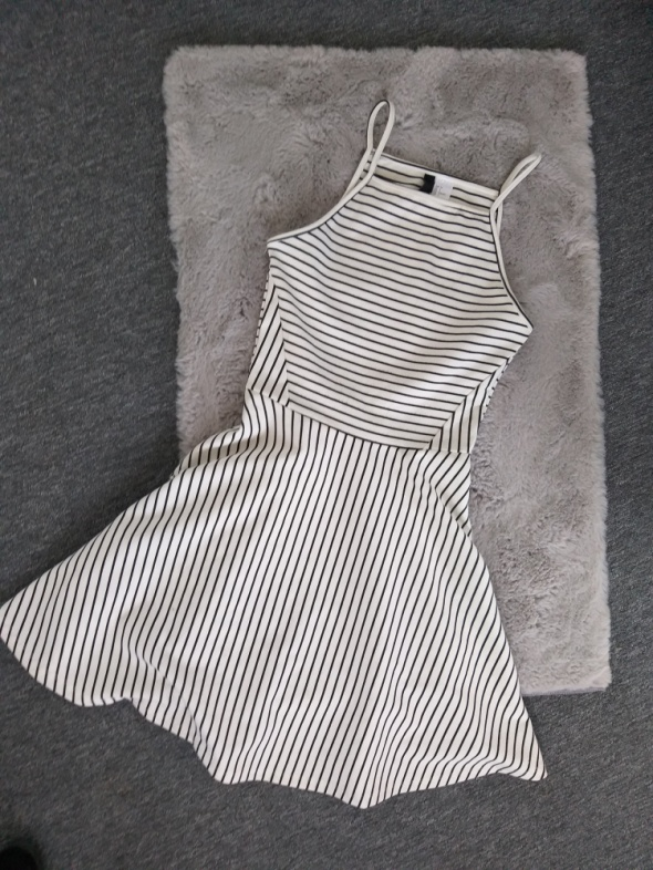 Sukienka w paski H&M xs