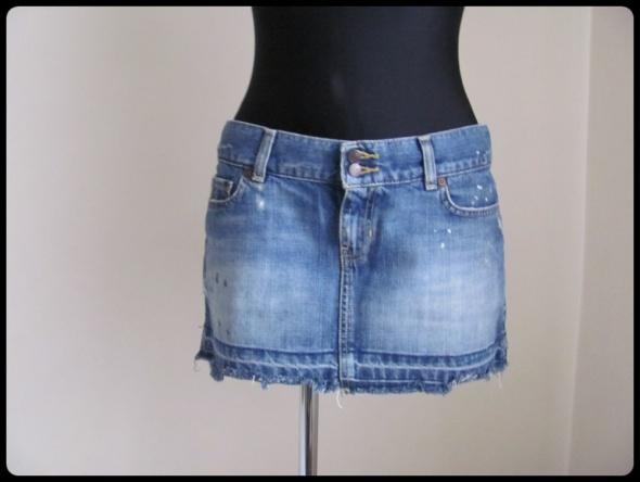 Spódnice Spódnica krótka jeans 40 L Abercrombie i Fitch